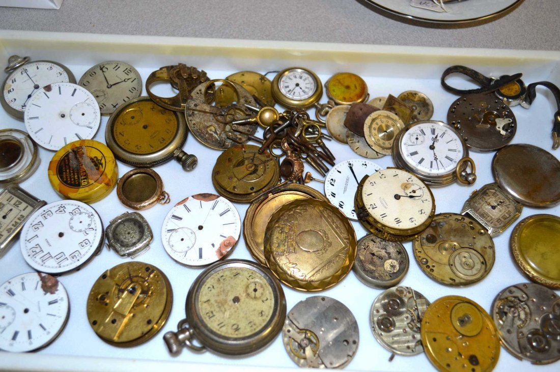 Lot of Pocket Watches & Parts