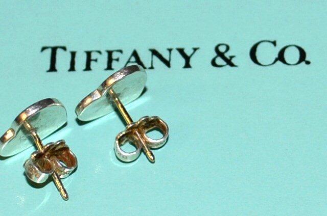 """Sterling """"Notes"""" Heart Earrings Tiffany & Co - 2"""