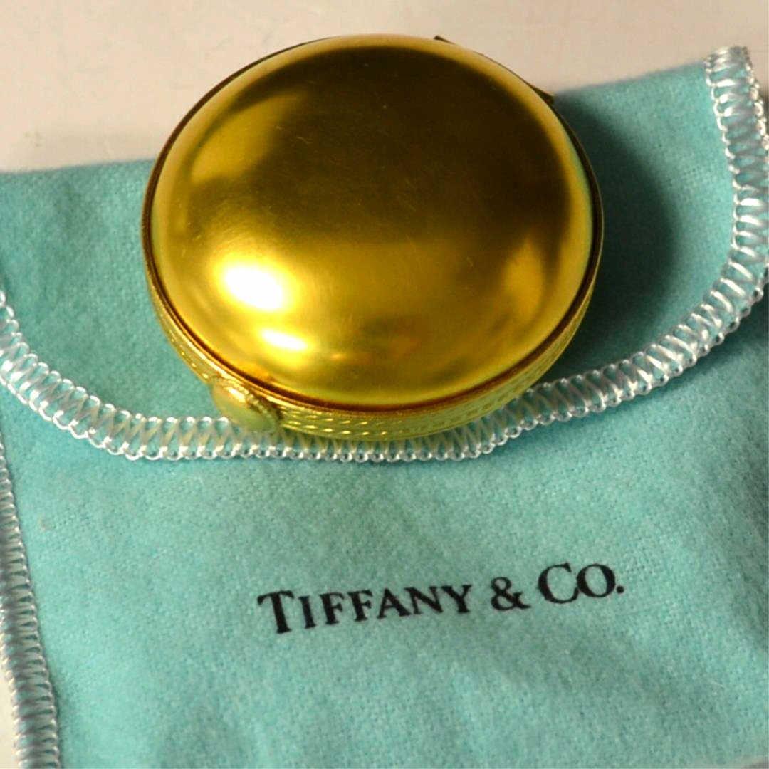 Enamel Pill Box By Tiffany & Co