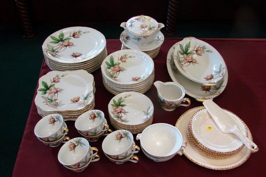 Meito Fine China - Woodrose Pattern - 54 pcs.