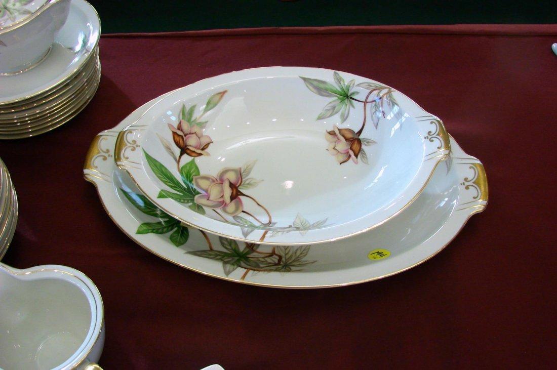 Meito Fine China - Woodrose Pattern - 54 pcs. - 2