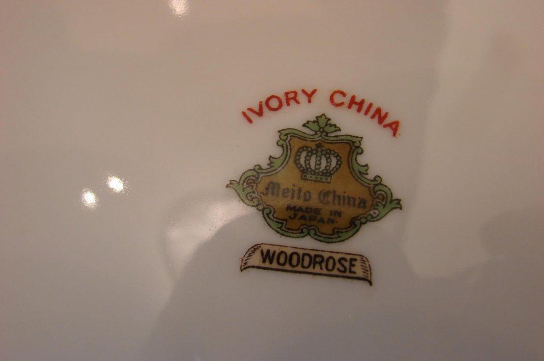 Meito Fine China - Woodrose Pattern - 54 pcs. - 3