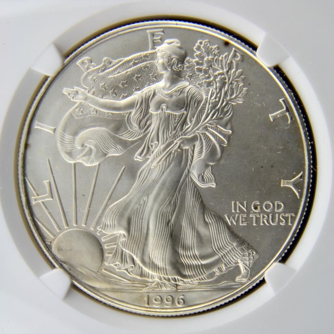 1996 Silver American Eagle Dollar NGC MS 69