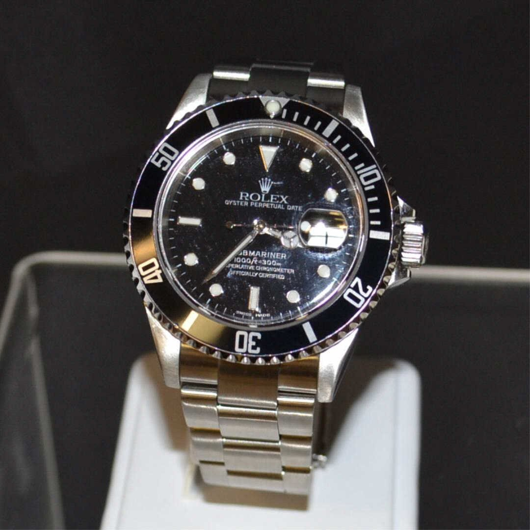 Man's Rolex Stainless Submariner Black Dial