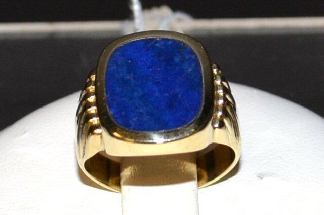 Man's Lapis Ring