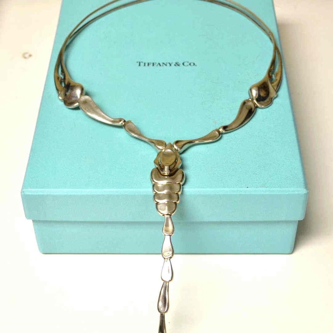 d5180cff92 Sterling Scorpion Necklace By Elsa Peretti - Dec 15, 2013 | Gulfcoast Coin  & Jewelry in FL