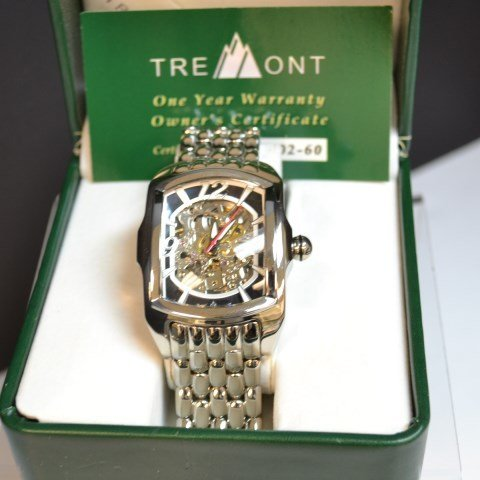 Man's Stainless Tremont Watch