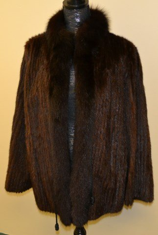 Mink fur coat from Hallmark Furs Saint Louis