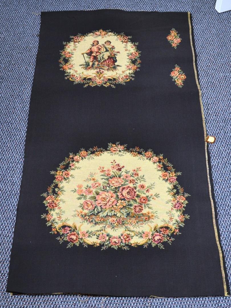 2 pc Vintage fabric 100% cotton Burch Co.
