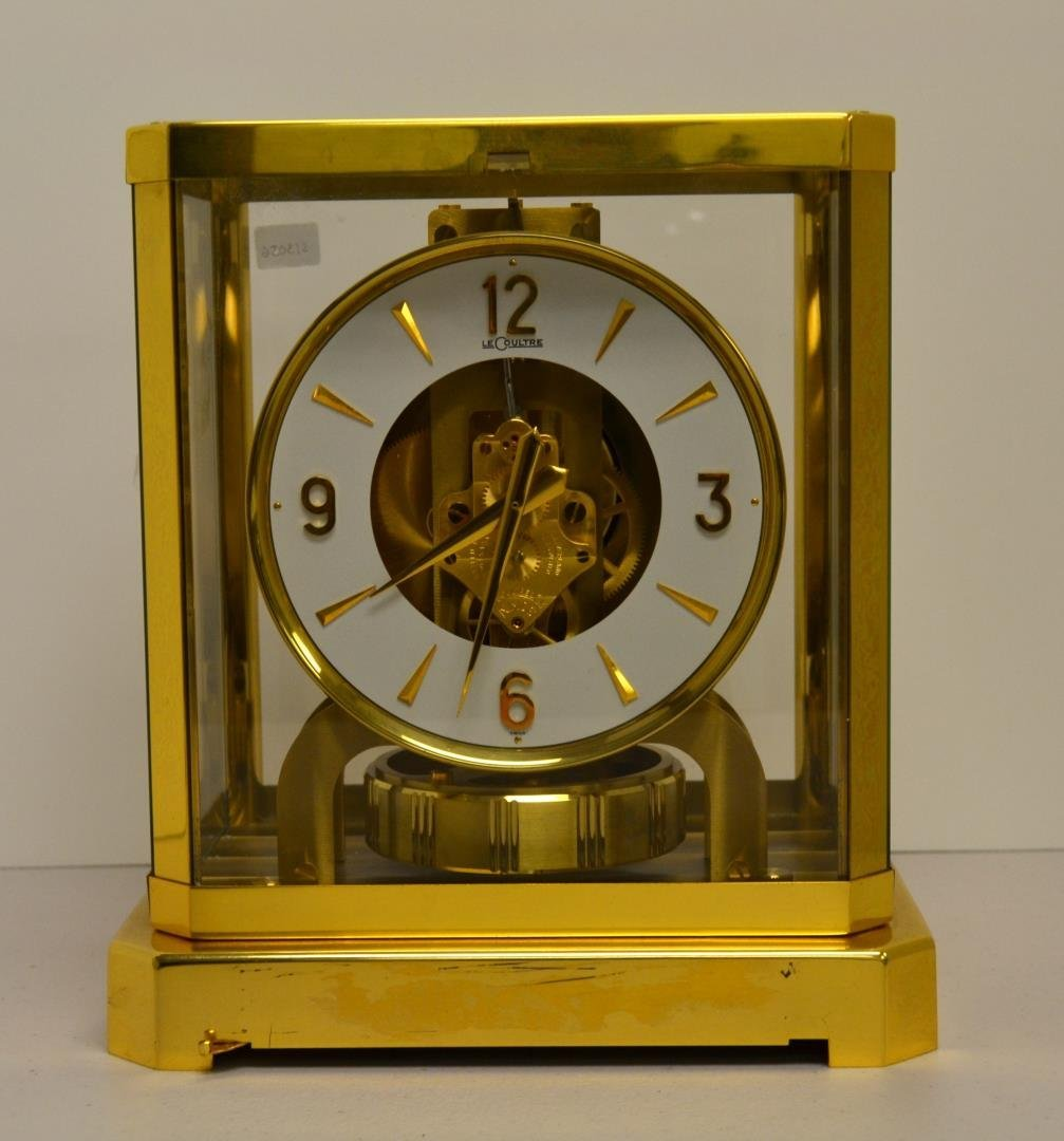 1960's LeCoultre Atmos mantel clock