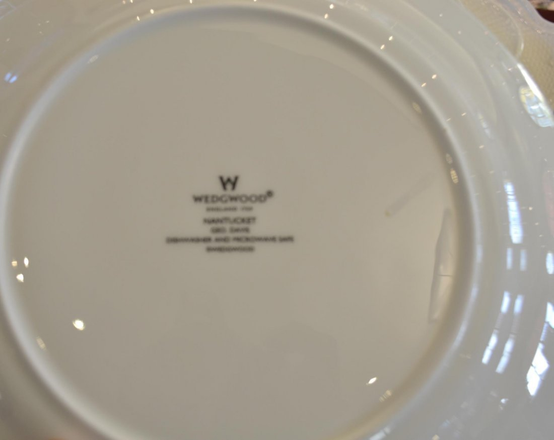 43 pc Wedgwood Nantucket basket fine china - 6