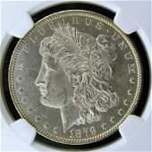 1879 O Morgan Silver Dollar NGC MS 62 PL