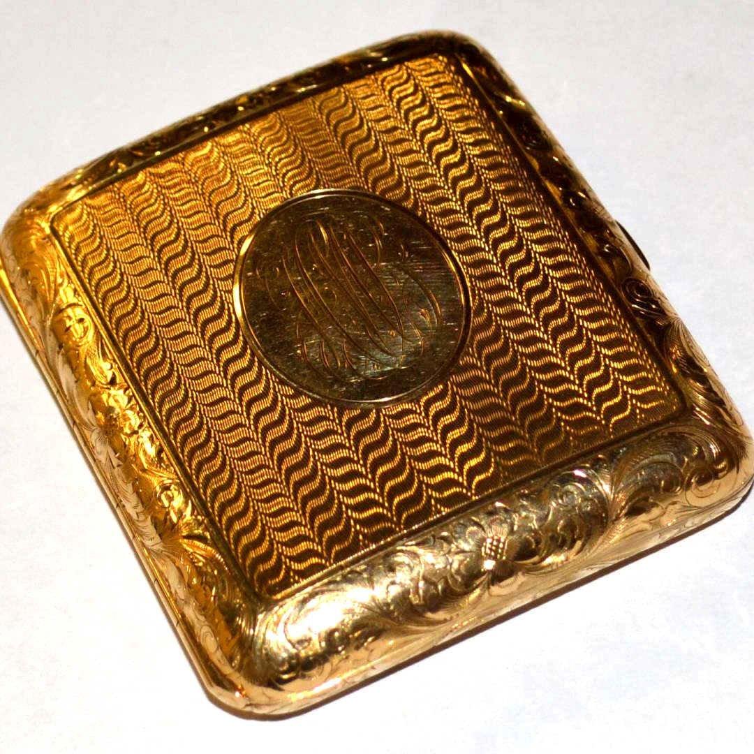 14kyg Cigarette Case