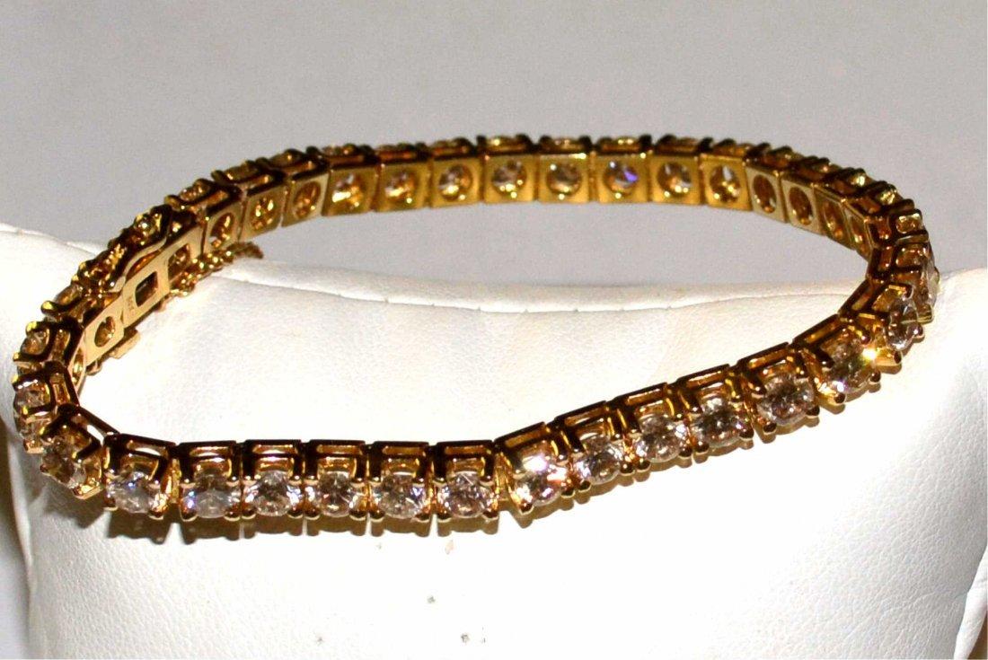 14ctw Diamond Tennis Bracelet in 14kyg