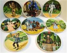 Eight Wizard Of Oz Plates