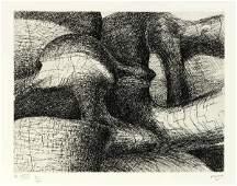 339: MOORE (Henri). Elephant skull. Gen�ve, G�rald Cram