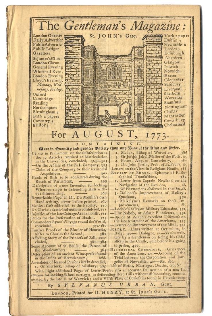 Boston Grievances - 1773