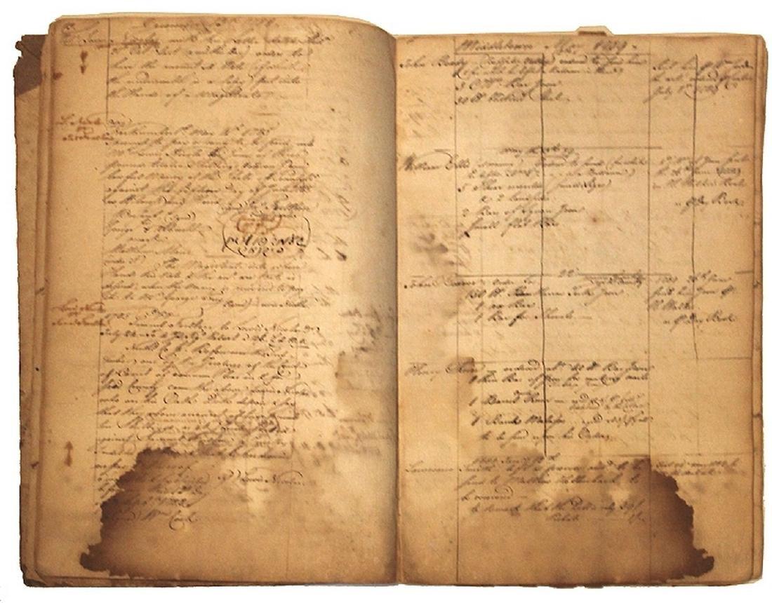 Revolutionary War Merchant's Ledger