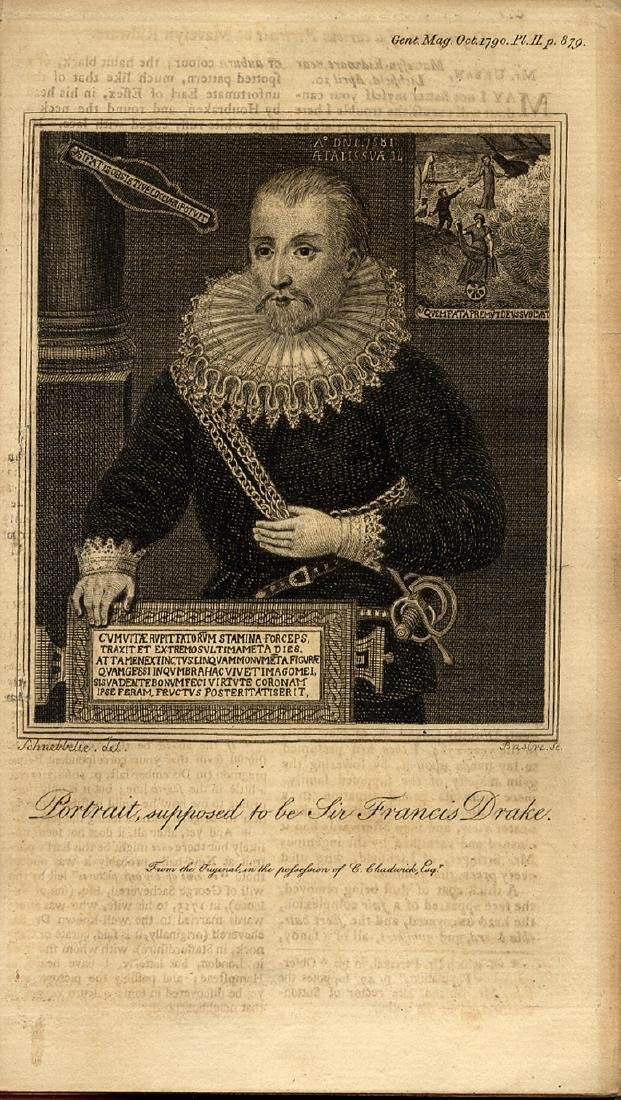 He Defeated The Spanish Armada - Sir Francis Drake -