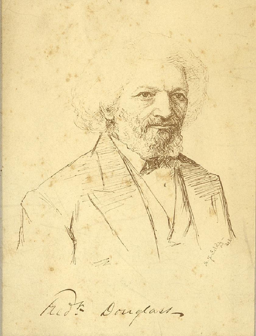 Frederick Douglass Albumen