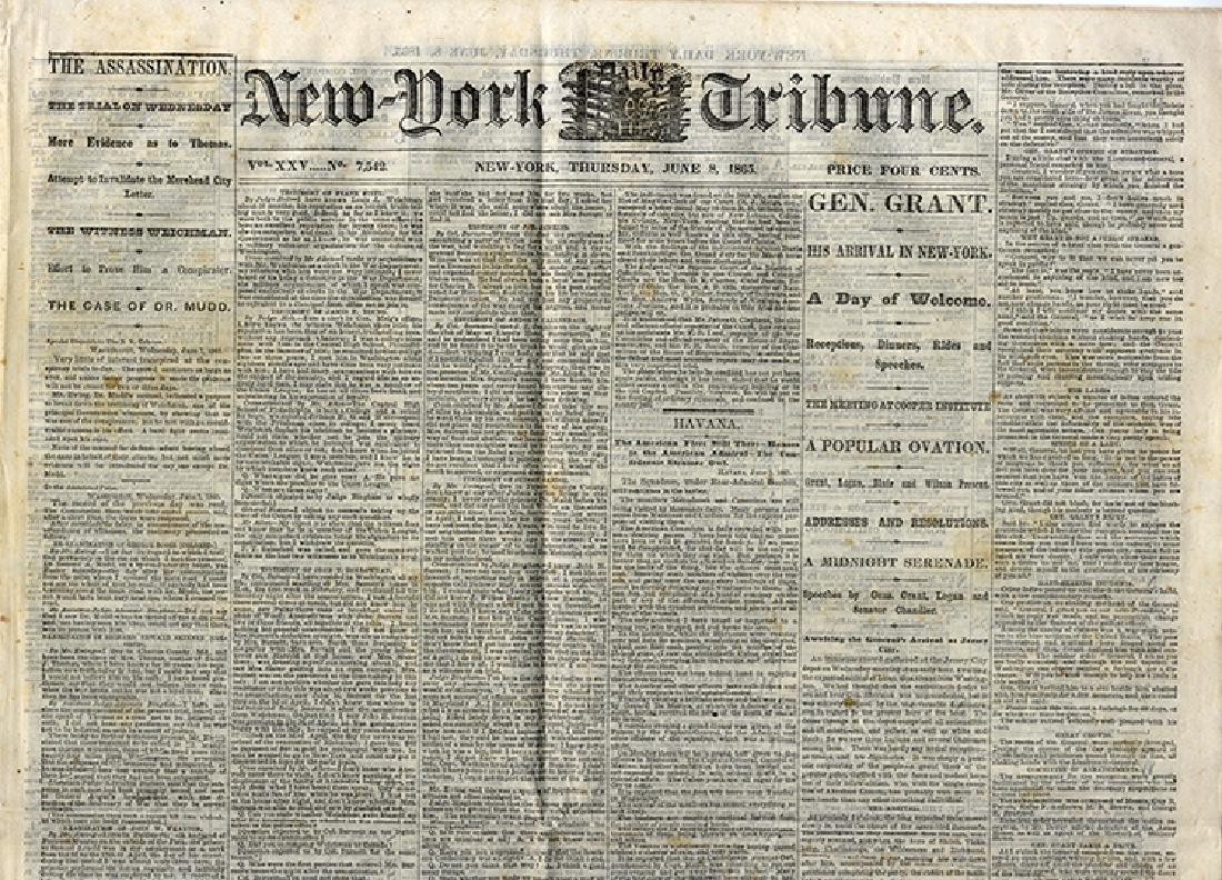 Lincoln Assassination Newspaper