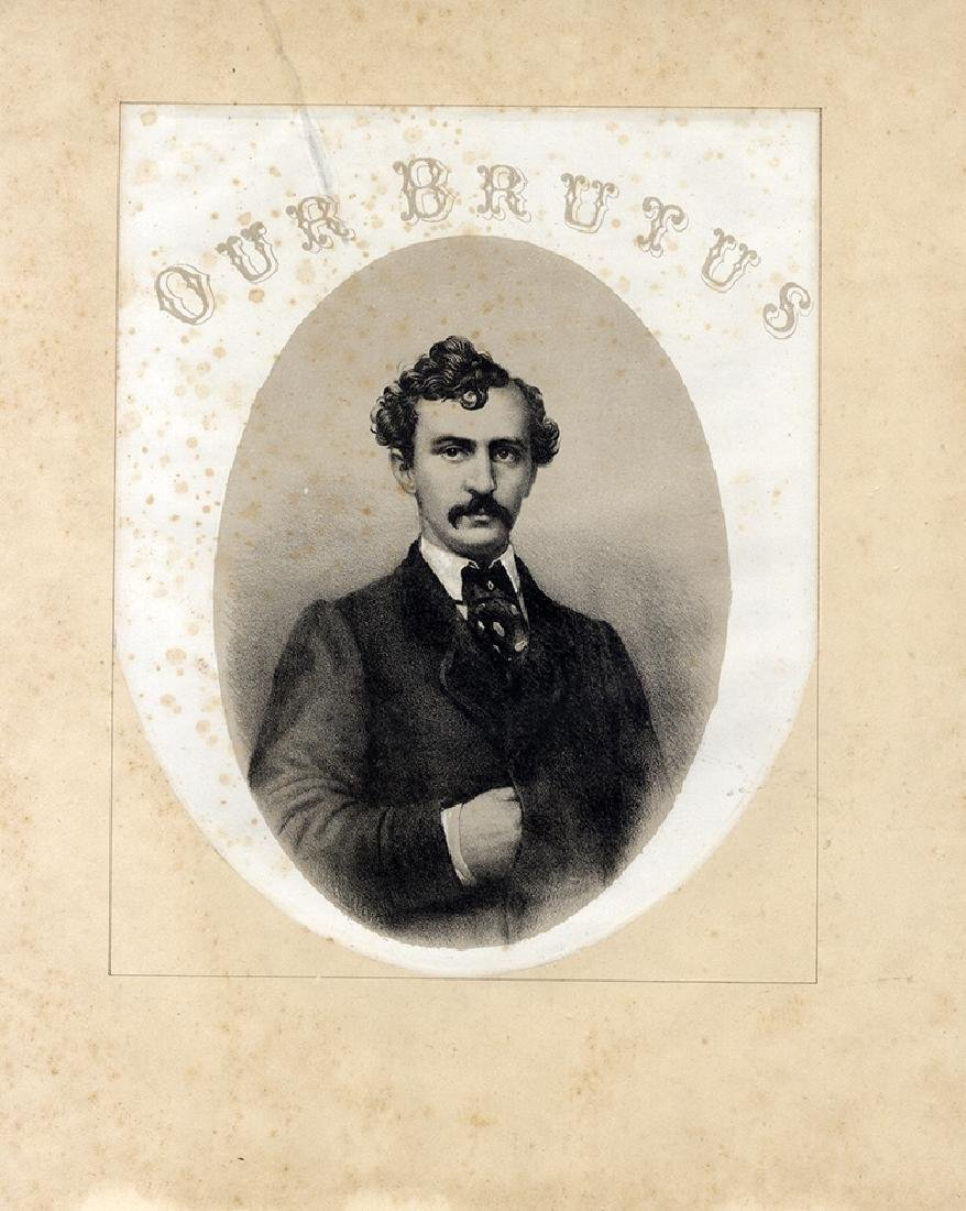 Lionizing the Assassin John Wilkes Booth In Music
