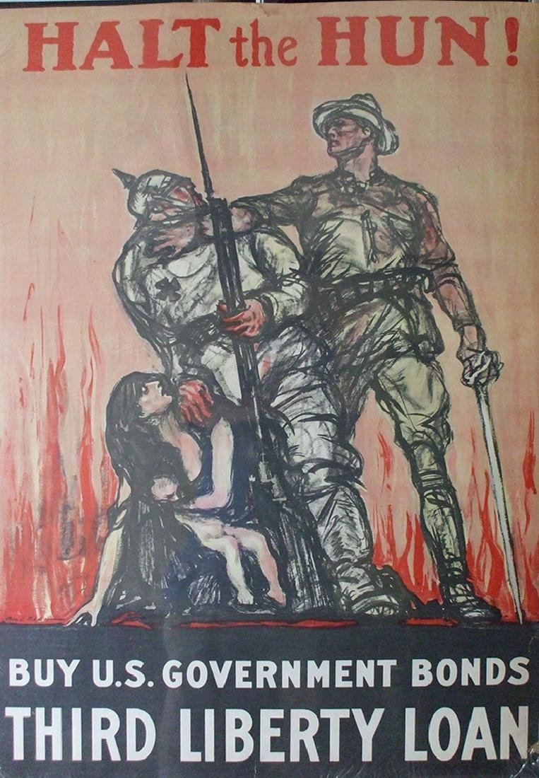Dramatic WWI Poster
