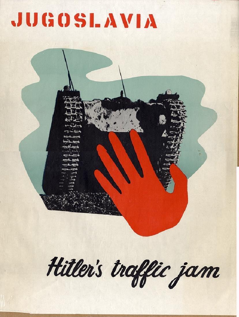 Stopping Hitler - Scarce Poster