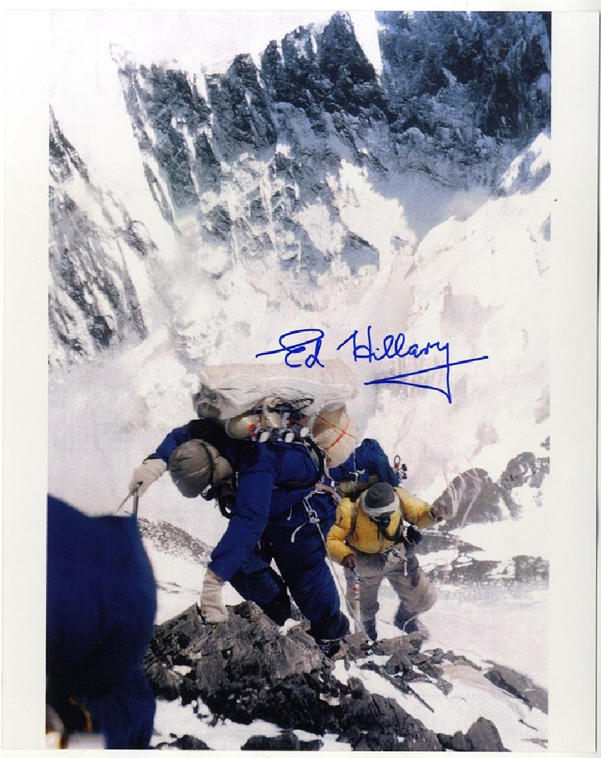The First to Climb Everest