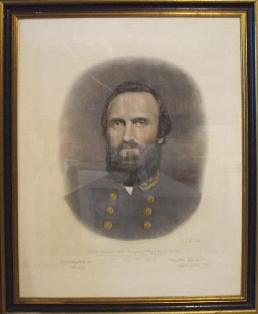 Two Fine Colored Engravings of Generals Robert E. Lee - 2
