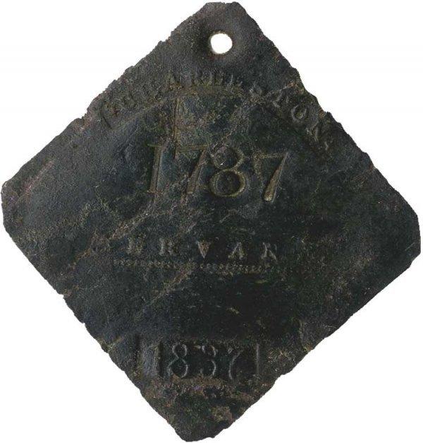 012: Charleston Slave Tag