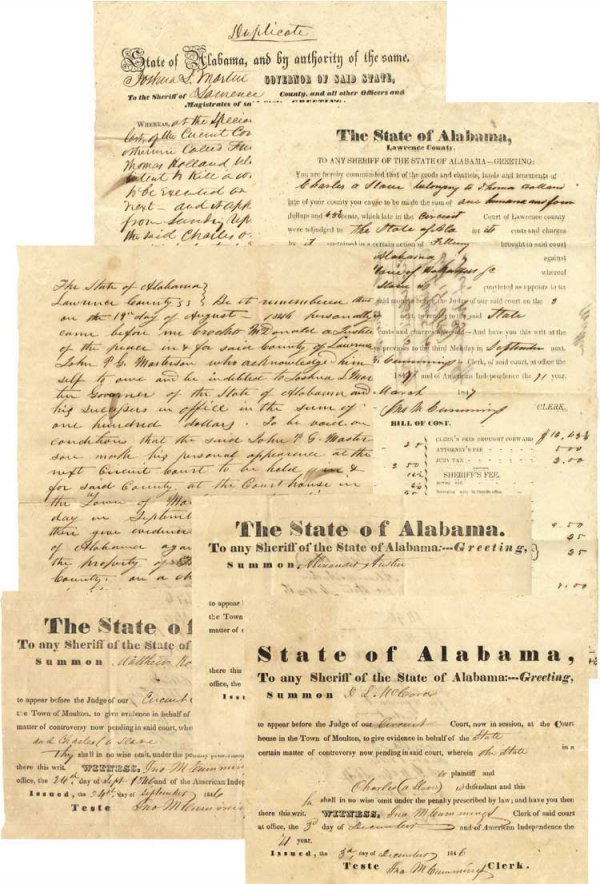 013: 1846 Alabama Governor Issues a Slave Pardon for At