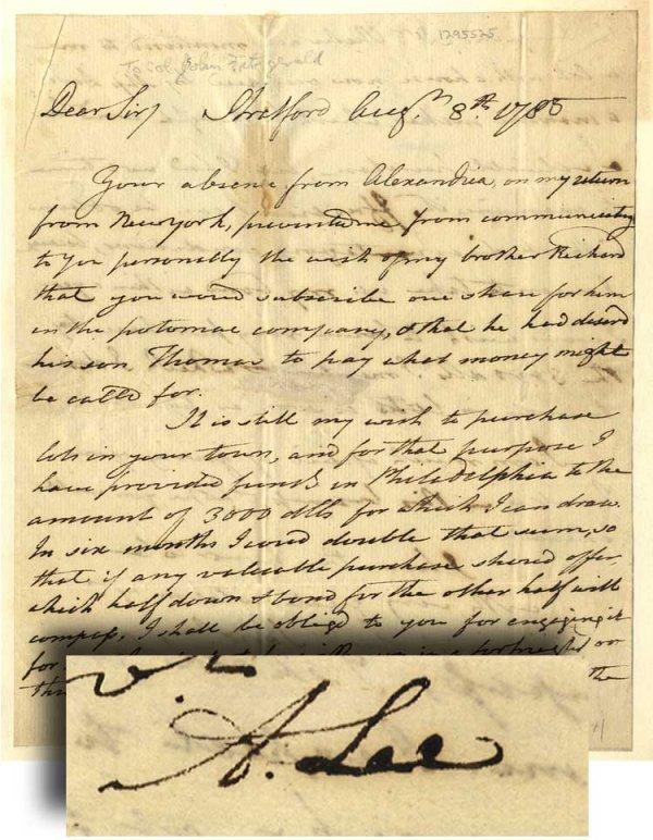 007: Good Content Arthur Lee Autograph Letter Signed