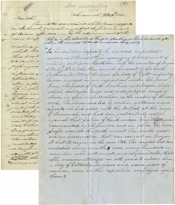 018: Fascinating Letter Addressed to Benson Lossing Per