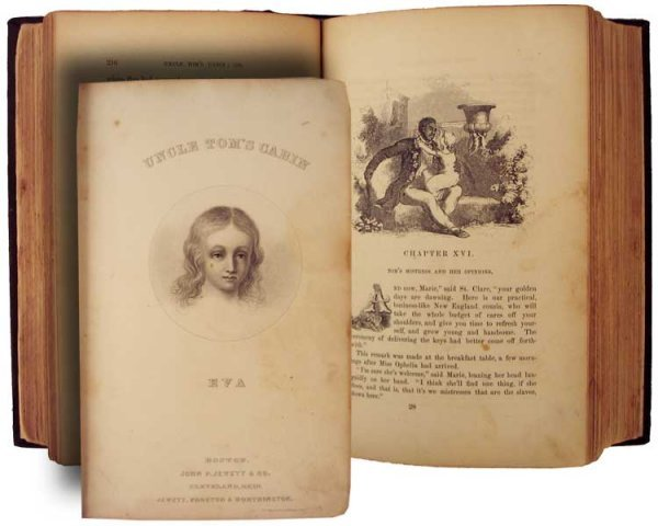 019: 1st Illustrated Edition of Uncle Tom's Cabin