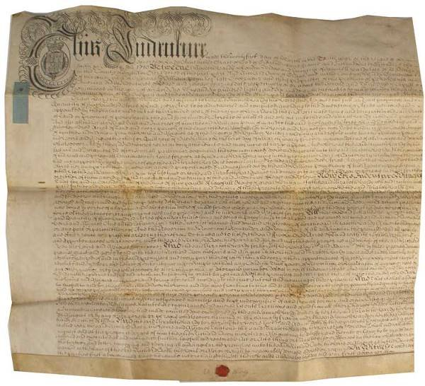 516: 1710 Deed