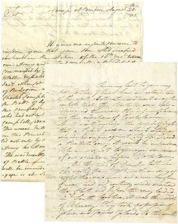 528: The Fall Charleston South Carolina - 1780