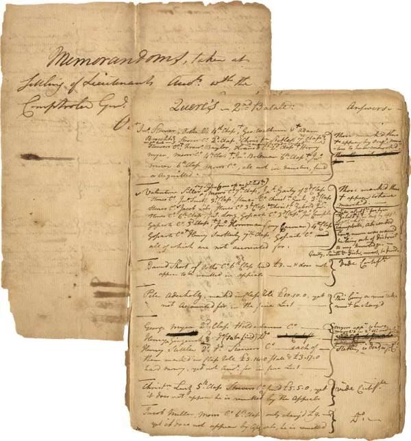532: Pennsylvania Troops Revolutionary War Pay Ledger