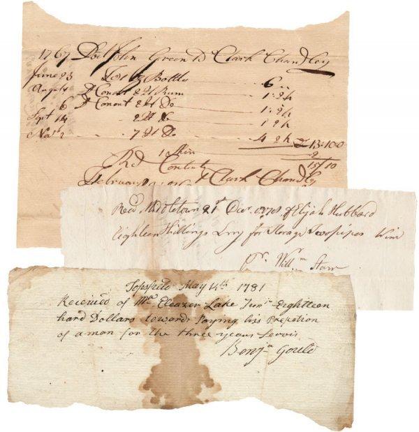 7: Three Revolutionary War Mnauscripts
