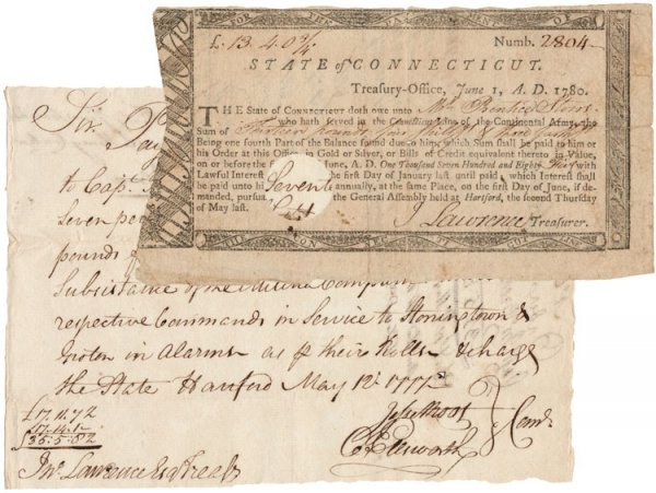 17: Connecticut Soldiers Receive their Pay