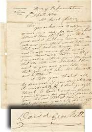 832: A FURIOUS CONGRESSMAN CROCKETT THREATENS A CARD SH