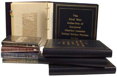 218: Extensive Civil War United States Marine Correspon