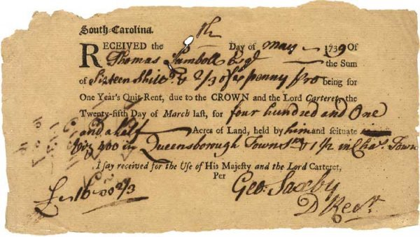 3: He Was the Stamp Act Enforcer for the Carolinas