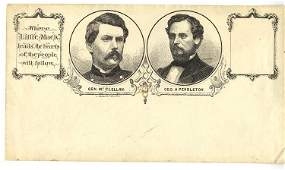 McClellan and Pendleton Campaign Cover