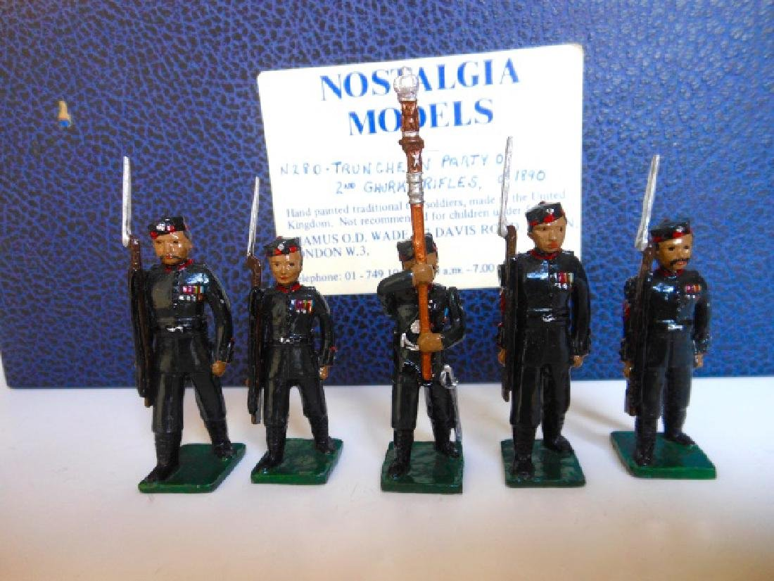 Nostalgia Truncheon Party of 2nd Gurkha Rifles