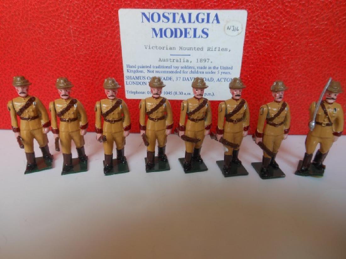 Nostalgia Victoria Mounted Rifles Australia 1897