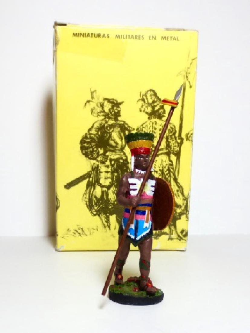 Alymer Aztec Warrior Figure with Box.
