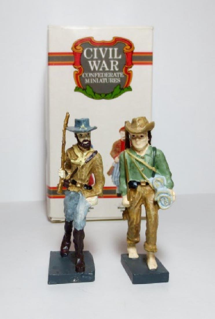 Novelino Civil War Confederate Figures Boxed Set