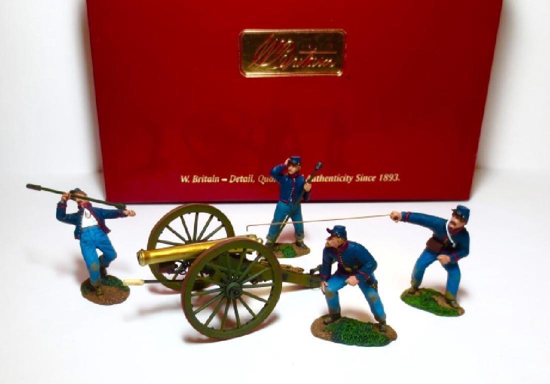 Britains Civil War Union Artillery Boxed Set