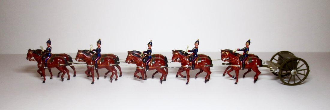 Britains from Set #211 Heavy Horse Artillery